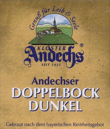 Andechs doppelbock dunkel